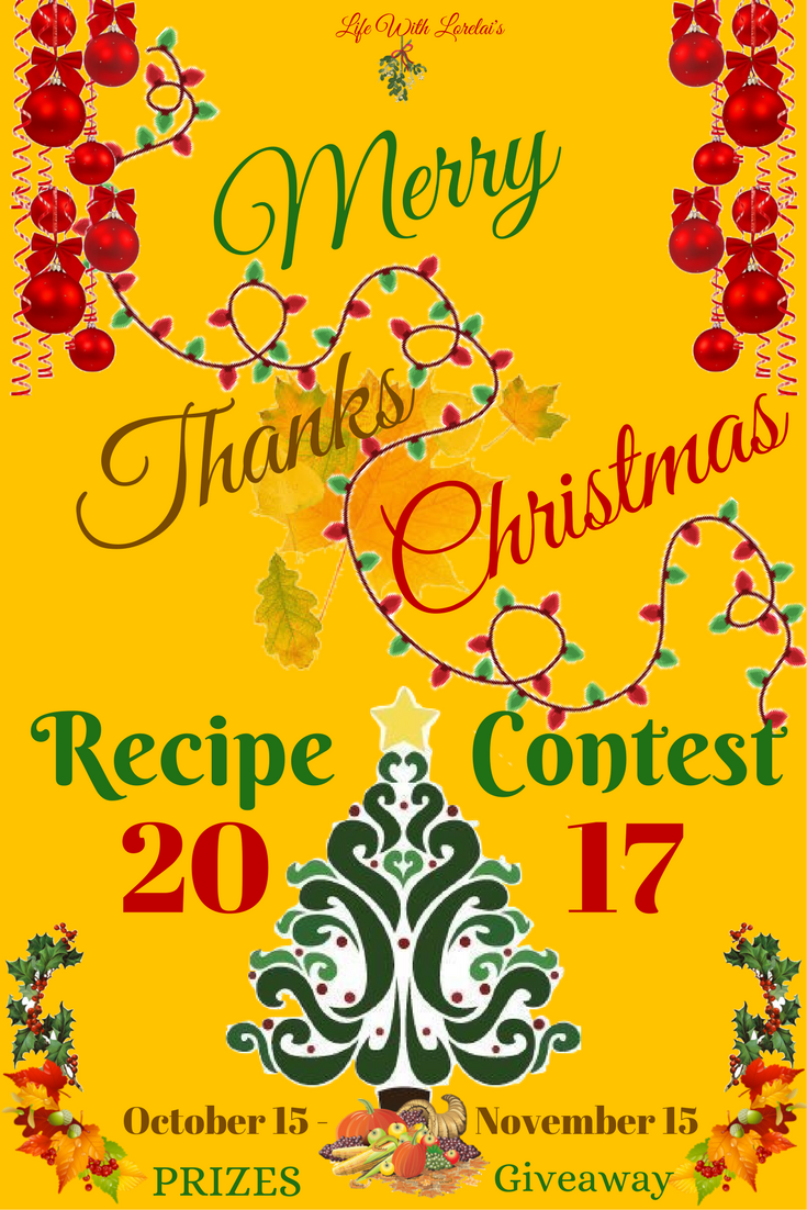 Merry ThanksChristmas Recipe Contest 2017