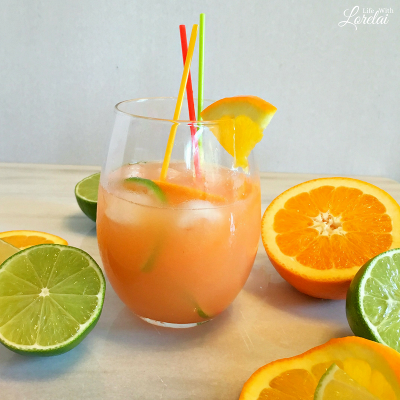 Your friends will love this fruity rum punch at your next girls' night party. Refreshing and delicious. Made with Bacardi Superior. Msg 21+ AD #RumInTheSun