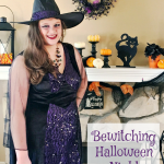 Bewitched Halloween and DIY Trick-or-Treat Lantern