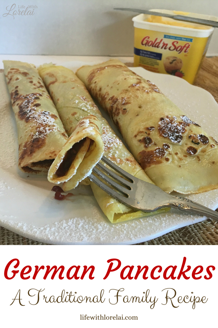 Here is a tasty recipe that is great for busy school days, leisurely weekends, or special holiday brunches -- German Pancakes! #CapturingTraditions AD