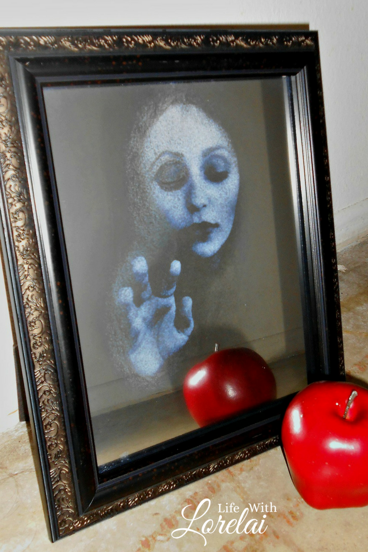 If you are looking for Halloween decor that gives a big fright with little bite then the Haunted Mirror is the DIY project for you -- easy and eerie!
