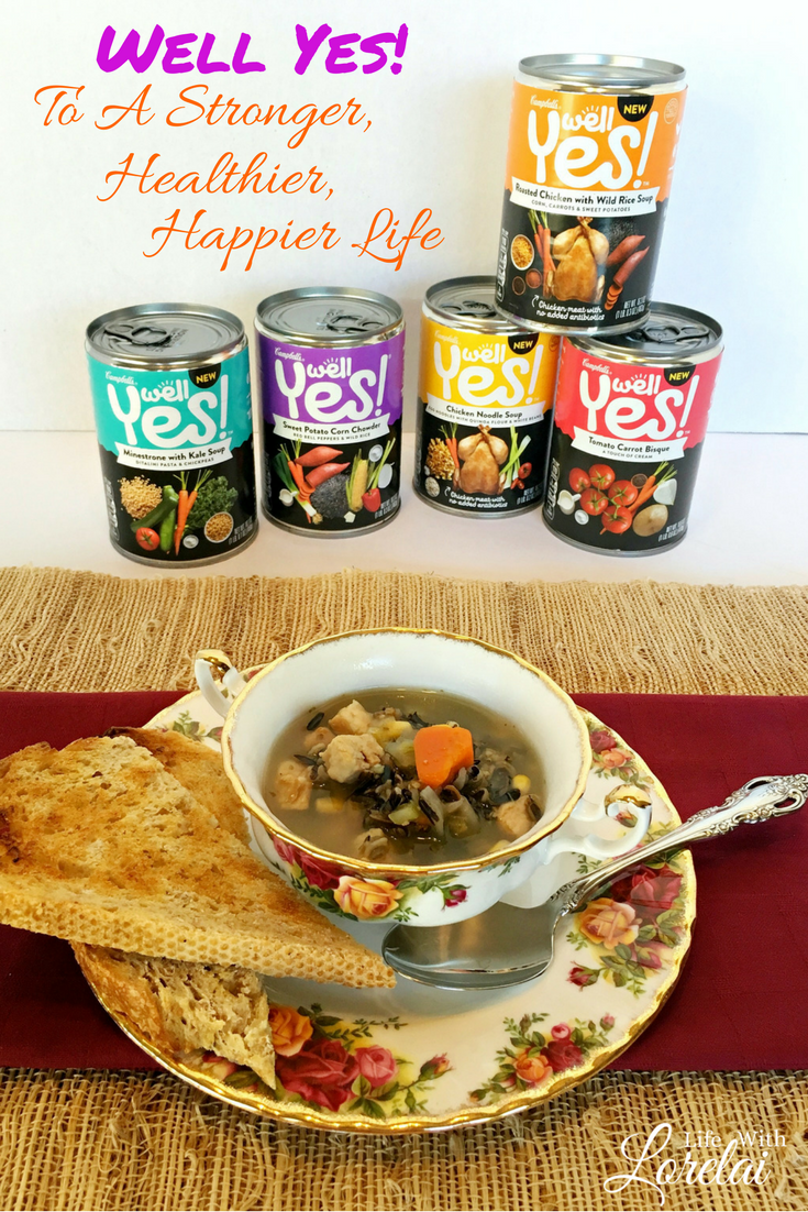 Be inspired by this story of personal strength and determination while eating a delicious and nutritious cup of Well Yes! Soup. #ad #WellYesMoment #soup