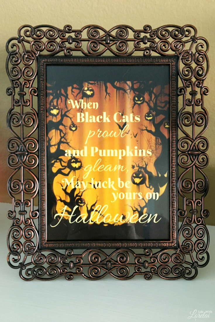 I love this time of year -- all the holidays inspire me. So, enjoy my Halloween Mantel Decor including a quick, easy, and spooky DIY project you'll love!
