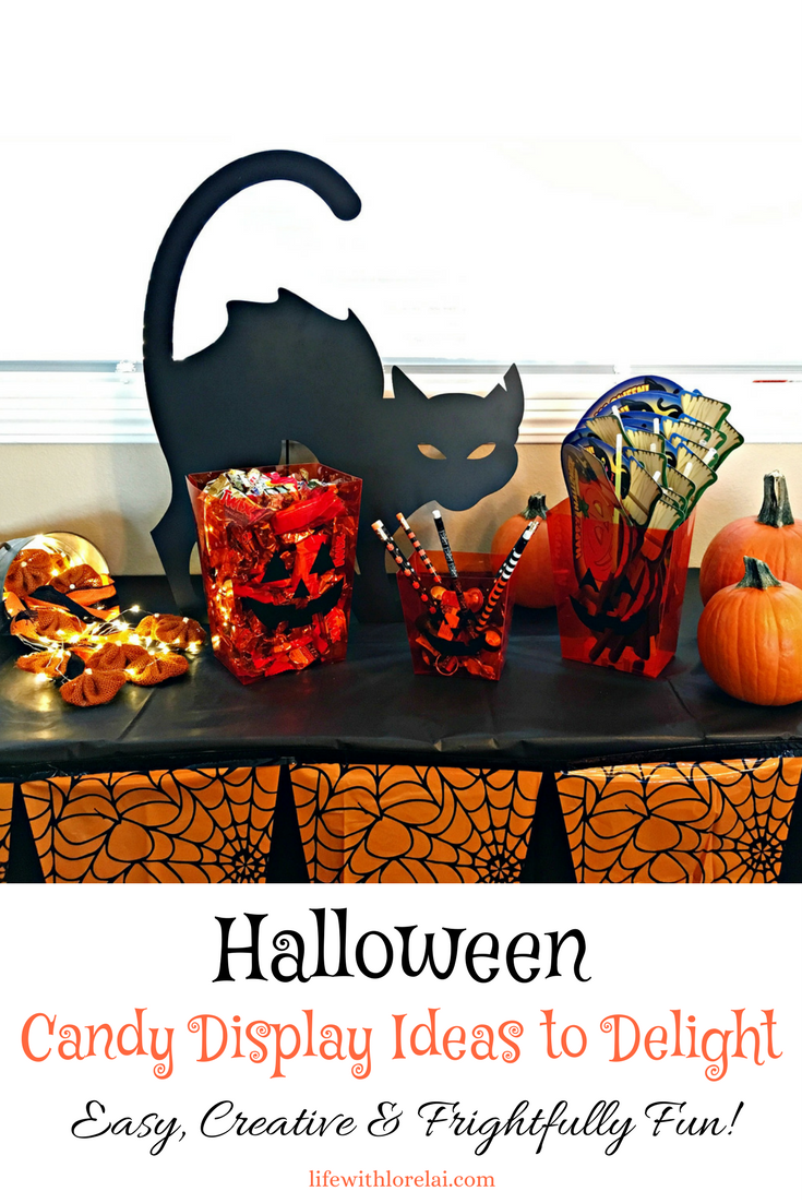 halloween candy display ideas to delight - life with lorelai