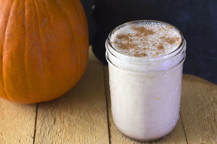 Homemade Pumpkin Spice Coffee Creamer - Mainly Homemade - HMLP 157 Feature
