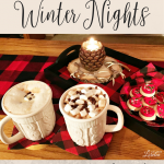 Chalkboard Art Tips And Cozy Winter Nights