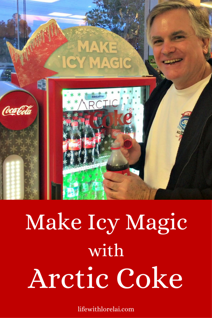 Arctic Coke make icy magic happen and enjoy! The Arctic Coke machine is easy and fun to use - watch the video! Get a super cold Coca-Cola, Diet Coke, Sprite, or POWERADE Mountain Blast beverage. Use the store locator to find an Arctic Coke machine near you! #ad #MakeIcyMagic #ArcticCoke #CocaCola
