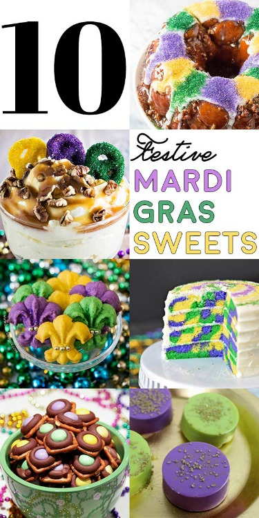 Join the celebration with fun and fabulous Mardi Gras ideas. Get your Fat Tuesday on! Plus link up at Home Matters with recipes, DIY, crafts, decor.
