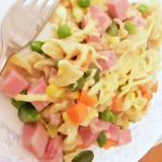 Ham Noodle Casserole Recipe Quick And Easy Dinner