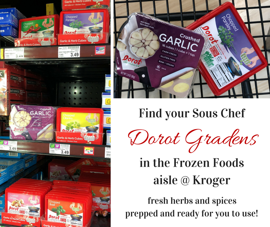 Make dinner quick and easy with fresh herbs, garlic, and onions from Dorot Gardens in perfectly sized frozen cubes. Get my recipe for Lemon Parsley Chicken and let Dorot be your sous chef. #ad #ElevateYourPlate