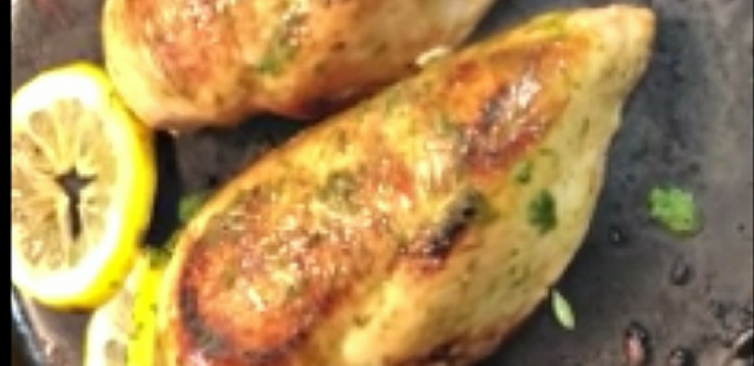 Lemon Parsley Chicken – A Quick and Easy Dinner