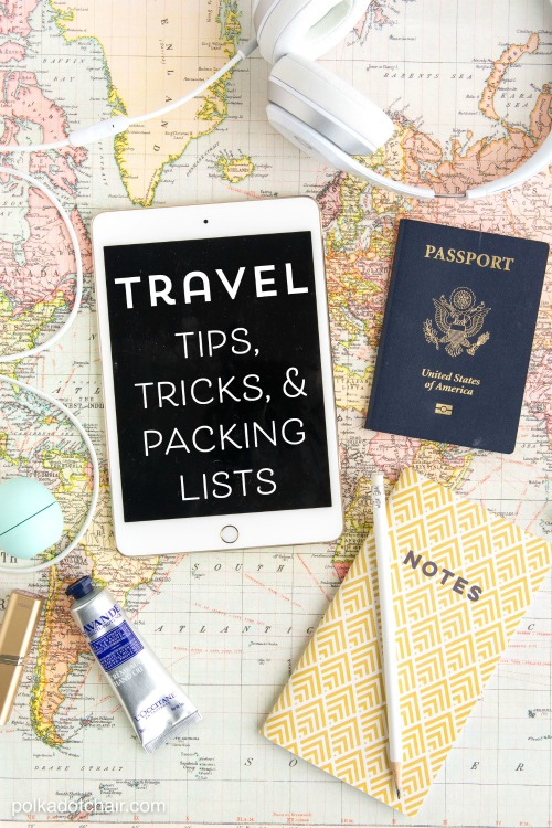 Planning a trip? We've got some awesome travel tips, tricks, and hacks to help you make the most of your vacation. Plus, link up at Home Matters with recipes, DIY, crafts, decor. #Travel #TravelTips #HomeMattersParty