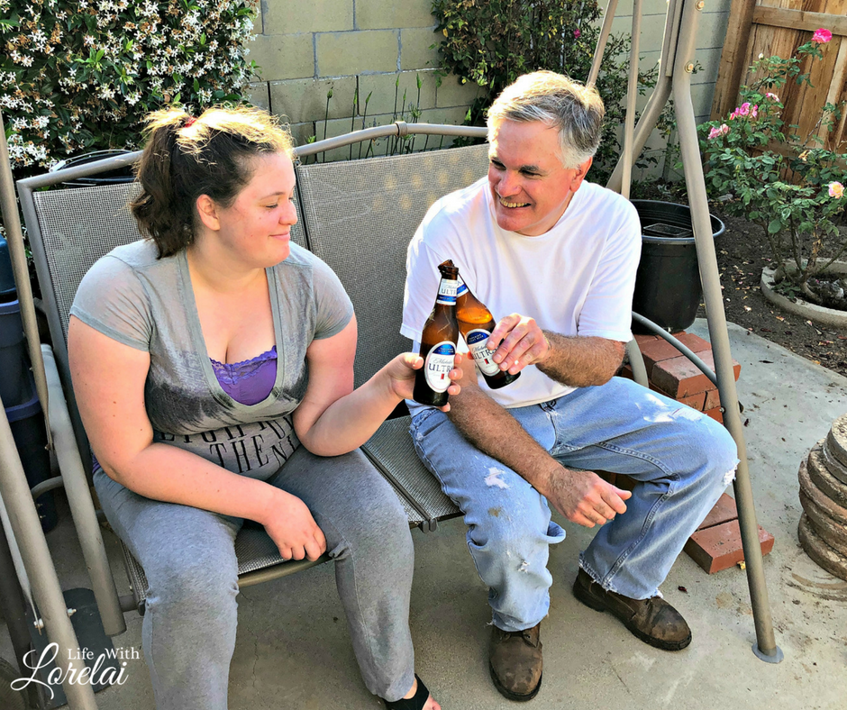 Michelob ULTRA helps you celebrate dad this Father's Day and all summer long. Ice cold and refreshing, superior taste that allows you to balance health and happiness. Beer is a great gift idea too. MSG 4 21+ #ad #MichelobULTRA #ULTRADAD #LiveULTRA #beer #dad