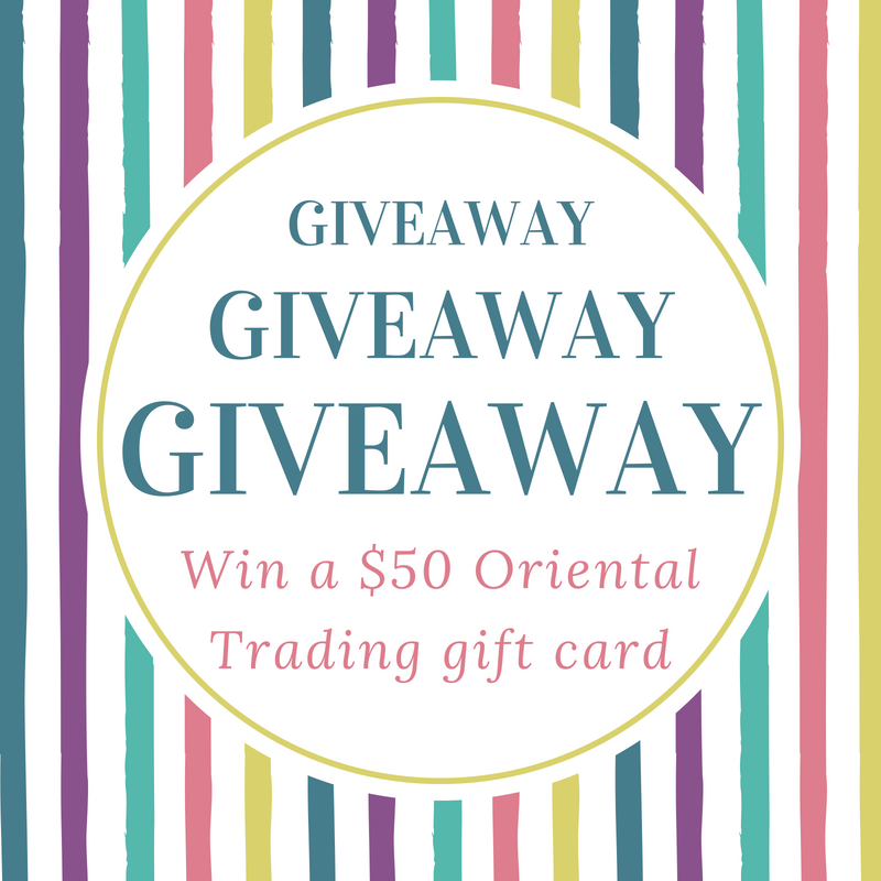 Enter now for the chance to win a $50 Oriental Trading Gift Card Giveaway! One lucky reader gets to order party supplies and favors, crafts, decorations, home decor and much more. Have fun selecting your items. Don't miss out, enter today! #OrientalTrading #Giveaway