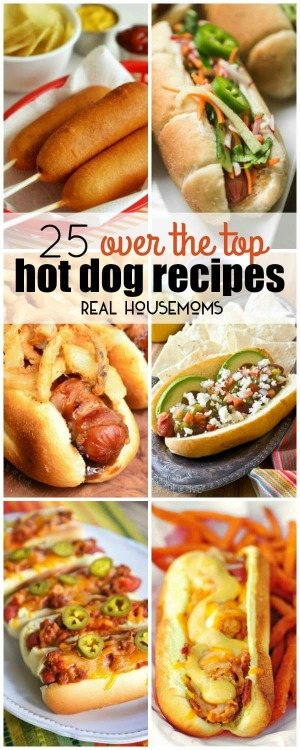 Hot Dogs - everything hot dogs being served! What's your favorite? Plus link up at Home Matters with recipes, DIY, crafts, decor. #HotDogs #HomeMattersParty