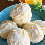 Orange Mint Ricotta Cookies Recipe
