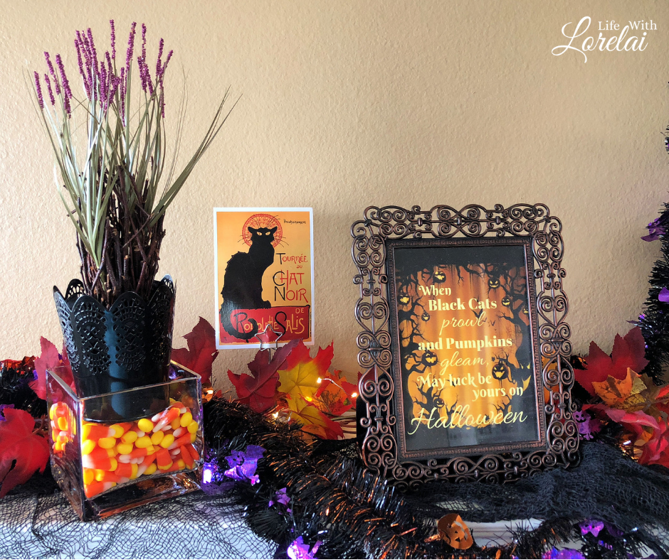 Decorate your home in spooky elegance. Find easy Halloween Decor ideas to create a ghoulishly delightful atmosphere. #HalloweenDecor #Halloween
