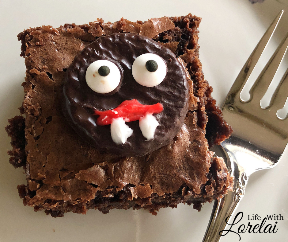 enjoy a spooky treat this halloween with these easy to make vampire brownies