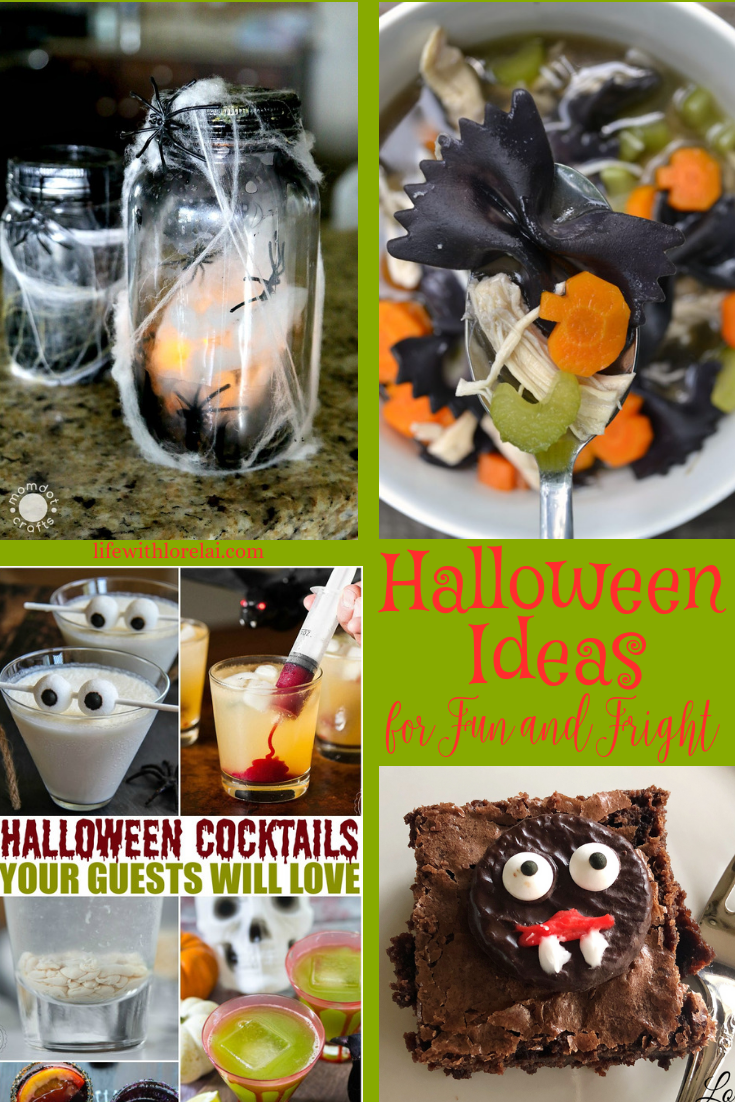 Fun, fright, and spooktacular Halloween ideas! Plus, link-up at Home Matters with recipes, crafts, diy. #Halloween #HalloweenIdeas #HomeMattersParty