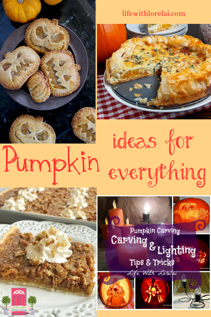 Find pumpkin ideas for recipes, decor, crafts, diy projects, and more! Plus, link-up at Home Matters. #pumpkin #PumpkinIdeas #HomeMattersParty