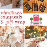 DIY Ornaments / Gift Wrap Ideas + HM #212