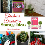 Christmas Decoration Storage Ideas + HM 214