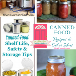Canned Food Recipes and Other Ideas + HM #220