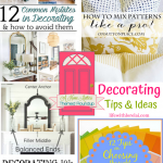 Decorating Tips and Ideas + HM #228