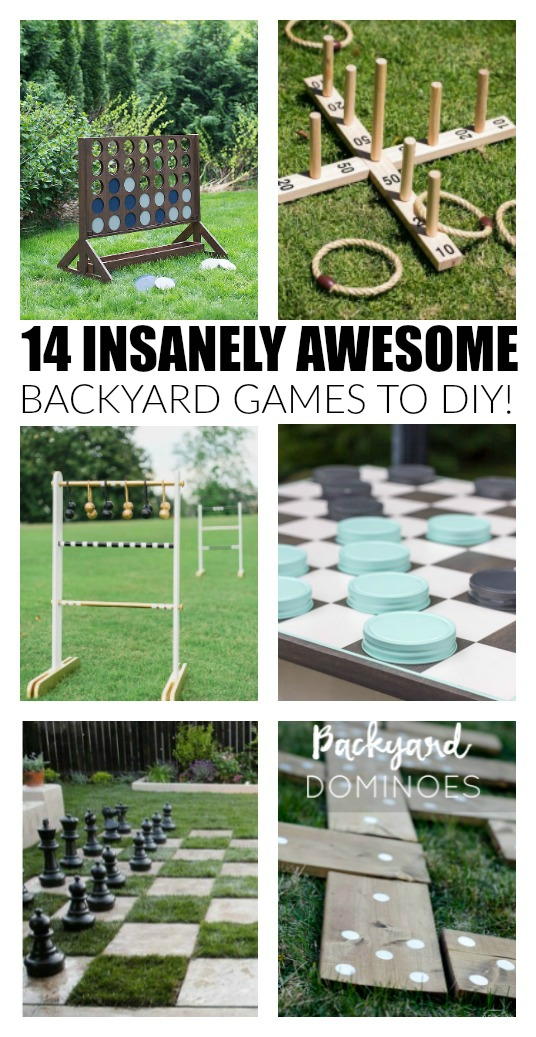 Find backyard games and outdoor activities in our Stay at Home Summer Activities roundup! Plus, link up at Home Matters. #SummerActivites #HomeMattersParty