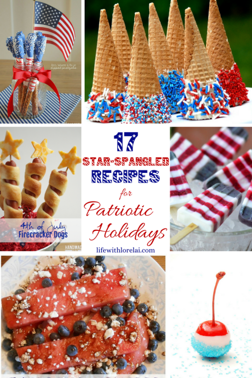 Find great Memorial Day recipes, decor, and inspiration. Plus, link up at Home Matters with recipes, DIY, decor, and crafts. #MemorialDay #HomeMattersParty
