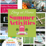 Stay at Home Summer Activities + HM #235