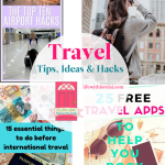 Travel Tips, Ideas, and Hacks + HM #234