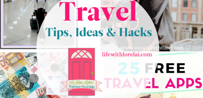 Got a travel bug? Find great travel tips, ideas, and hacks for traveling! Link up at Home Matters with recipes, DIY, decor. #Travel #TravelTips #HomeMattersParty