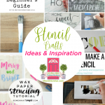 Stencil Crafts Ideas and Inspiration + HM #243
