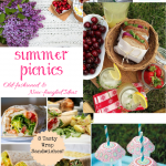Summer Picnics- Old-fashioned and New-fangled Ideas + HM #240