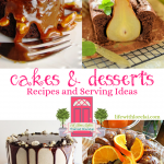 Cakes, Desserts – Recipes, Serving Ideas + HM #246
