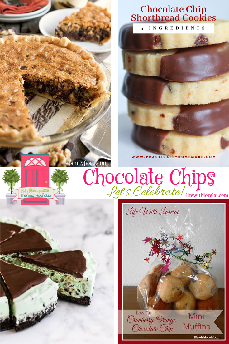 Let's celebrate the versatility of chocolate chips! What's your favorite recipe? Plus link up at Home Matters. #ChocolateChips #HomeMattersParty
