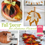Fall Decor for Autumn Harvest + HM #252