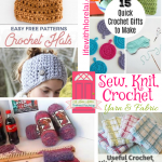 Sew, Knit, Crochet – Yarn & Fabric + HM #251