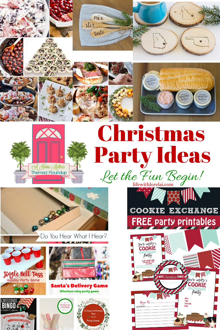 Christmas Party Ideas Let The Fun Begin Hm 260 Life With Lorelai