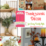 Thanksgiving Decor for Every Family Style + HM #258